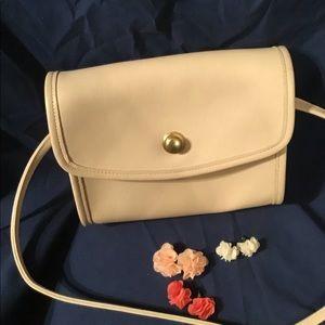 Coach satchel bag (earrings included)